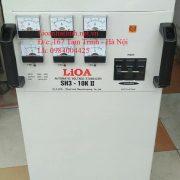 ỔN ÁP LIOA 10KVA MODEL SH3-10KII 3 PHA DÂY ĐỒNG 100%