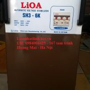 ỔN ÁP LIOA 6KVA MODEL SH3-6KII 3PHA