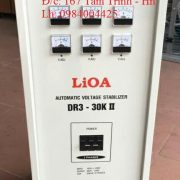 ỔN ÁP LIOA 30KVA MODEL DR3-30KII 3 PHA MỚI NHẤT 2019