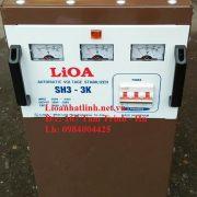 ỔN ÁP LIOA 3KVA MODEL SH3-3KII 3 PHA